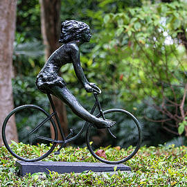 The Cyclist by Marylou Badeaux