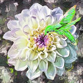 The Dahlia And The Hummingbird by Tina LeCour