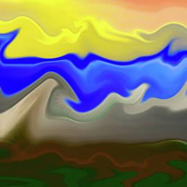 The deformed hills by Paulo Viana