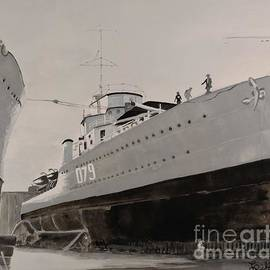 The Destroyer Saguenay by Lise PICHE