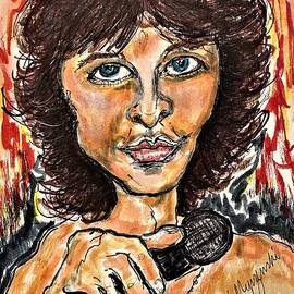 The Doors Jim Morrison by Geraldine Myszenski