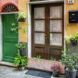 The Doors of Portovenere by Kathi Isserman