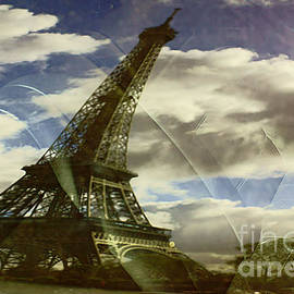 The Eiffel Tower And Wind. by Alexander Vinogradov
