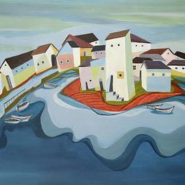 The Fishermen's Bastion by Aniko Hencz