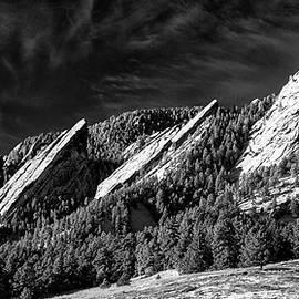 The Flatirons - Boulder Colorado by Stephen Stookey