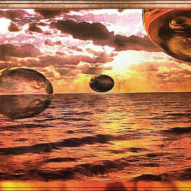 The Floating Orbs by Mario Carini