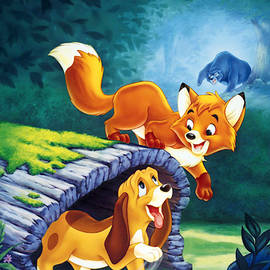 The Fox and the Hound by Geek N Rock