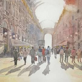 The Galleria Vittorio Emanuele II, Milan by Ian Osborne