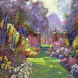The Garden Wall by David Lloyd Glover