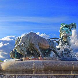 The Gefion Fountain, Copenhagen by Brian Shaw