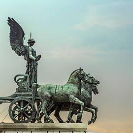 The Goddess Victorio In Her Quadriga / La Dea Vittoria Nella Sua by Mike Schaffner