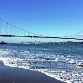 The Golden Gate Beach by Millie Reeve
