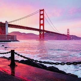 The Golden Gate Bridge by KaFra Art