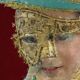 The golden mask by Rita Di Lalla