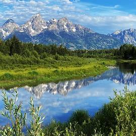 The Grand Tetons  by Lori Frisch