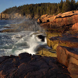 The Granite Acadia Seacoast by Stephen Vecchiotti