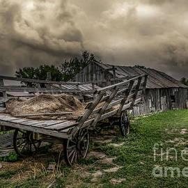 The Hay Wagon by Mitch Shindelbower