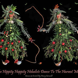 The Hippity Hoppity Herbalists Dance To The Harvest Moon by Nancy Griswold