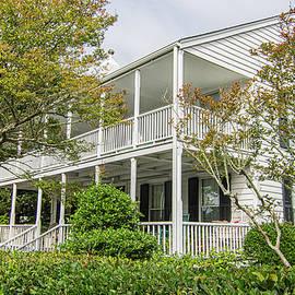 The Historic Langdon House - Beaufort North Carolina by Bob Decker