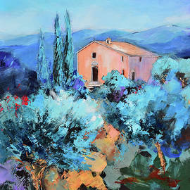 The Italian Chapel among the Olive Trees by Elise Palmigiani