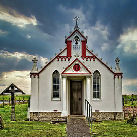 The Italian Chapel, Orkney, Scotland. by Robert Murray