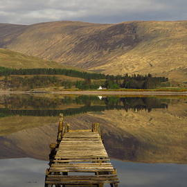 The Jetty, Loch Linnhe, Fort William by Andrew Wright