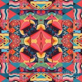The Joy of Design Mandala Series Puzzle 8 Arrangement 3 by Helena Tiainen