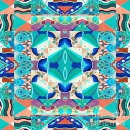 The Joy of Design Mandala Series Puzzle 8 Arrangement 3 Inverted by Helena Tiainen