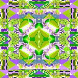 The Joy of Design Mandala Series Puzzle 8 Arrangement 3 Spring Variation by Helena Tiainen
