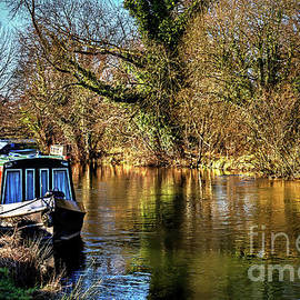 The Kennet In January Sunshine by Ian Lewis