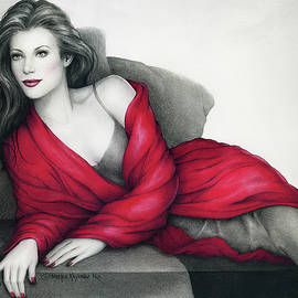 The Lady in Red by Morgan Kari