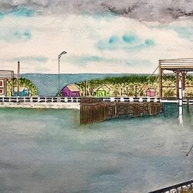 The Last Swing Bridge in Texas