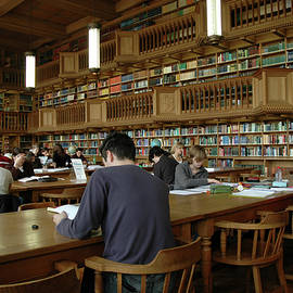 The Library Of The Catholic University Of Leuven - 2 by Lieve Snellings