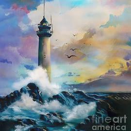 The Light House art 34 by Gull G