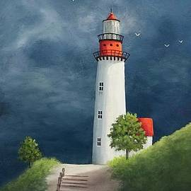 The Lighthouse- Standing Proud by Danett Britt