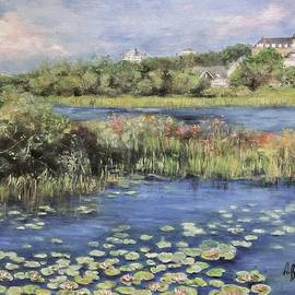 The Lily Pond by Anne Barberi