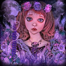 The Little Flower Girl by Artful Oasis