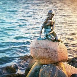 The Little Mermaid Langelinie Copenhagen  by Carol Japp
