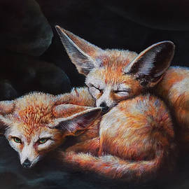 The Little Red Foxes by Asp Arts