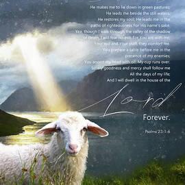 The Lord is my Shepherd by Anita Hubbard