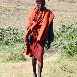 The Maasai Warrior by Marta Kazmierska