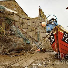 The Mackerel Slip - Sennen Cove by Mark Haynes