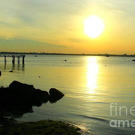 The Magical Golden Hour over the Bay by Dora Sofia Caputo