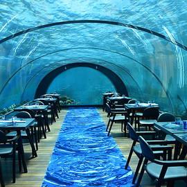 The Maldives Undersea Restaurant by Neil R Finlay