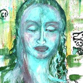 The Masters of Graffiti - The Green Madonna by Debora Lewis