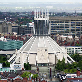 The Metropolitan Cathedral in Liverpool, England, GB, UK by Derrick Neill