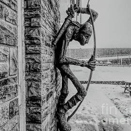 The Middleton Archer with a sketch effect by Tony Hulme