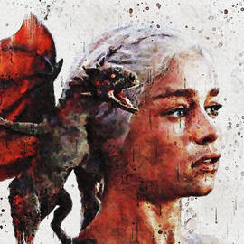 The Mother of Dragons by Gunawan RB
