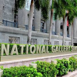 The National Gallery art museum in heritage City Hall building Singapore by Imran Ahmed
