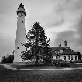 The North Point Lighthouse by Ricky L Jones